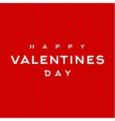 Valentines Day text inscription Background Design vector image vector image