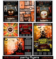Halloween poster background vector