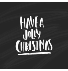 Unique christmas lettering vector