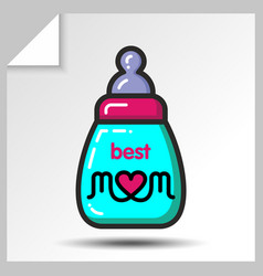 Mothers day icons 5 vector
