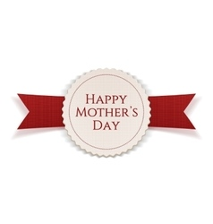 Happy mothers day realistic festive banner vector