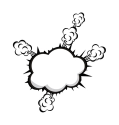 pop art onomatopoeia speech bubble icon image vector image vector image