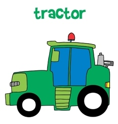 Tractor collection vector
