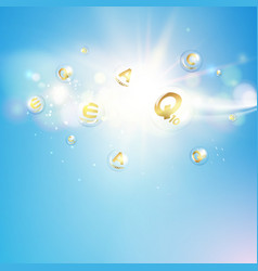 UV Protection cream vector image vector image