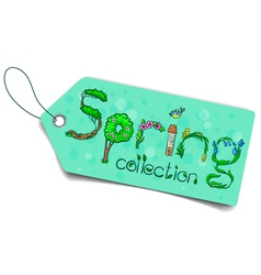Spring collection vector