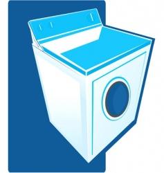 washing machine vector image