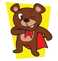 Mighty Bear vector image vector image