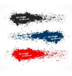 Set of grunge banners vector image vector image
