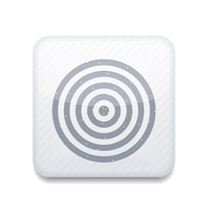 White darts icon eps10 easy to edit vector