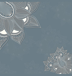 floral design elements for page vector image