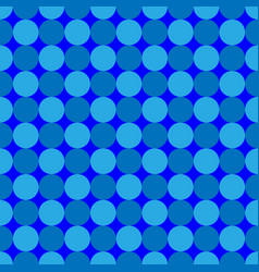 polka dot geometric seamless pattern 7708 vector image