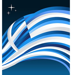 Greece flag background vector image