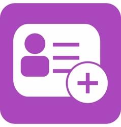 Membership card vector