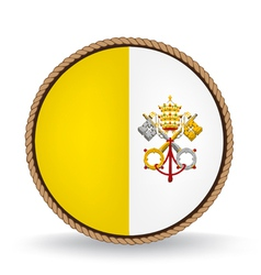 Vatican city seal vector