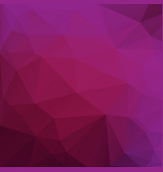 purple abstract poly background vector image