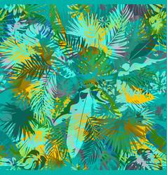 Artistic summer grunge seamless pattern vector