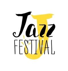 Jazz festival poster design music poster vector