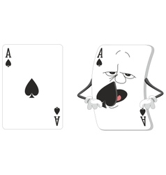 Playing card set vector