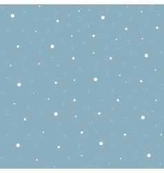 Heavy snowfall background vector