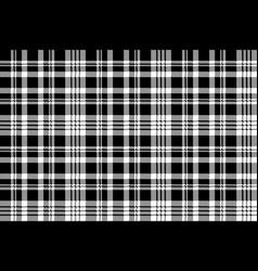 Abstarct check pixel seamless pattern black white vector