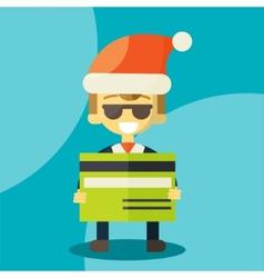 good credit card vector image