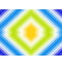 Polygonal mosaic with bright color ornament vector