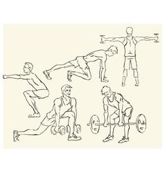 Sport motivation poster vector