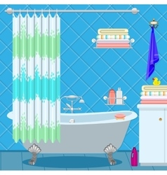 Bathroom fittings vector