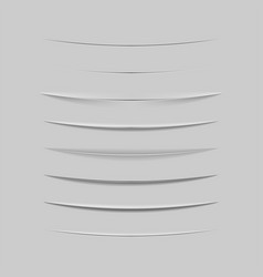 collection of dividers for web design vector image vector image