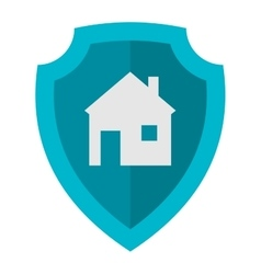 Home lock icon vector image vector image