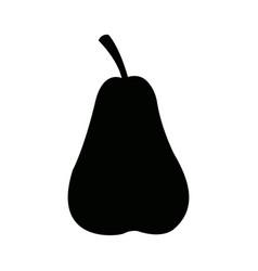 pear fruit fresh natural food organic vector image