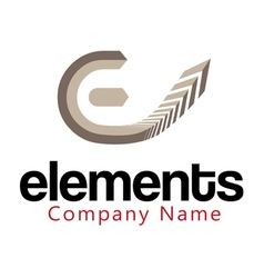 Elements design vector