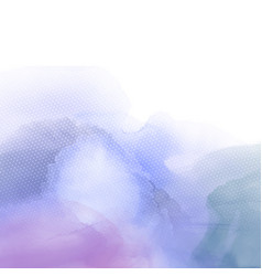 Abstract watercolour texture vector