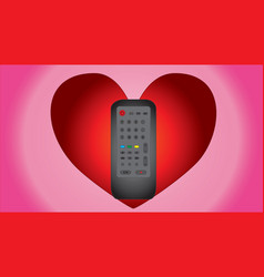 Expression of love for the remote control vector