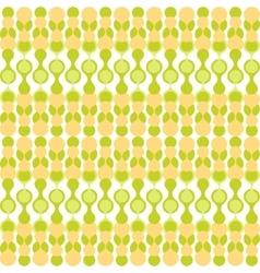 Greenish metaball seamless pattern vector image vector image