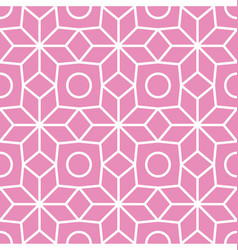 petals and flowers seamless pattern vector image vector image