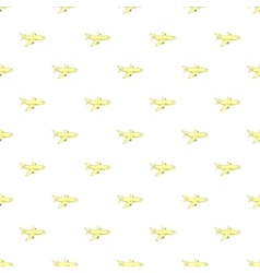 Plane pattern cartoon style vector image vector image