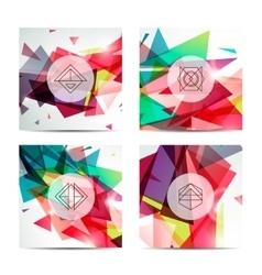 Set of hipster Labels Logo Frames Modern vector image vector image