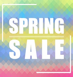 Spring sale background can be used for cards vector