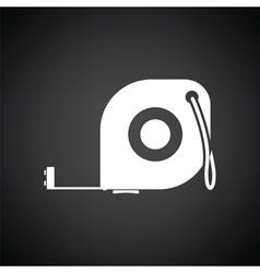 Icon of constriction tape measure vector