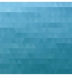 Abstract ocean blue geometric triangle background vector