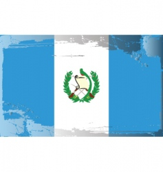 Guatemala national flag vector