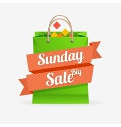 sale bag labels concept vector image