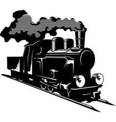 Steam engine vector