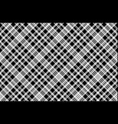abstarct check pixel seamless pattern black white vector image