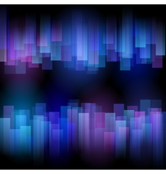 Abstract aurora background vector