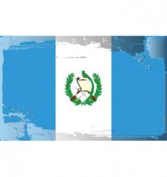 Guatemala national flag vector