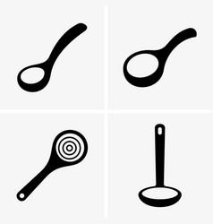 soup ladles vector image vector image