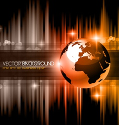 High tech business background vector