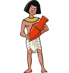 Ancient egyptian craftsman vector